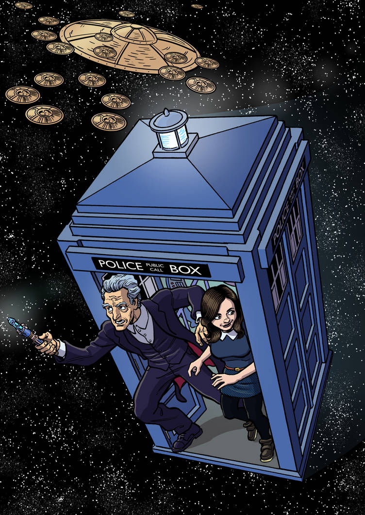 Doctor Who by mistermuck