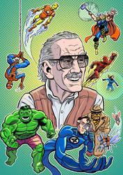 Stan Lee by mistermuck
