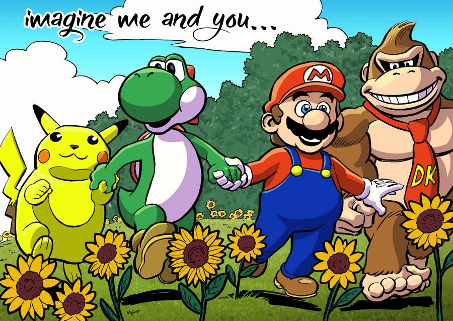 Super Smash Bros by mistermuck