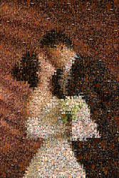 sealed with a kiss - MOSAIC by sanritan