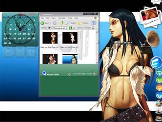 hottie desktop by sanritan