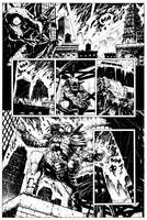 Batman Vs. Predator Page 1 by HenrikJonsson