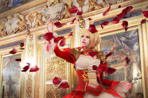 Saber Nero: Burst of celebrity by Seranaide