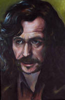 Gary Oldman as Sirius Black by sullen-skrewt