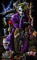 The Joker by sullen-skrewt