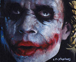 Joker unmasked ACEO by sullen-skrewt