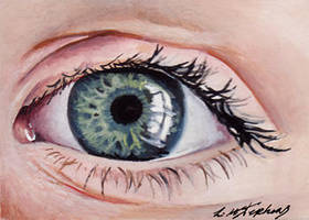 Eye Study ACEO by sullen-skrewt