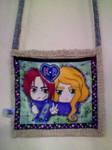 Ai No Kusabi - KatzexRaoul handbag by madame-green
