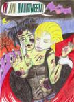 AiNoKusabi - AI NO HALLOWEEN by madame-green