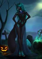 [YCH] Desirable witch - Freya by EtskuniArt