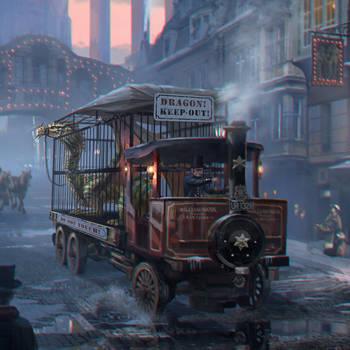 C.O.T:Dragon Truck by wang2dog