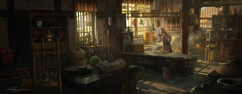 A chef's day just start by wang2dog