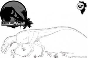 InGen Files Metriacanthosaurus BETA by Miyess
