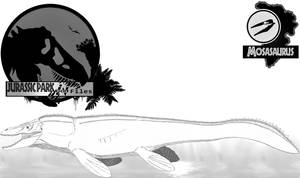 InGen Files Mosasaur by Miyess
