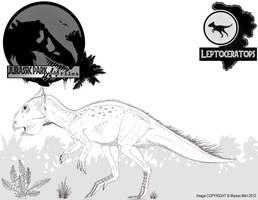 InGen Files - Leptoceratops gracilis by Miyess