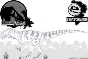 InGen Files - Ceratosaurus (updated) by Miyess