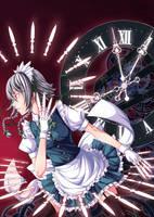 The Winged Blade of Time by Kanda-Yakumo