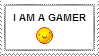 Gamer stamp by BlondGamer