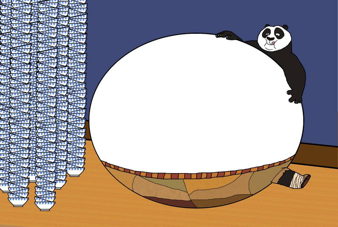 Kung Fu Panda Fat Po Www Tollebild Com