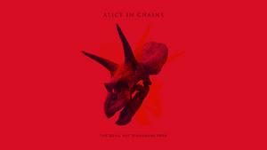 The Devil Put Dinosaurs Here (Red) by ORANGEMAN80