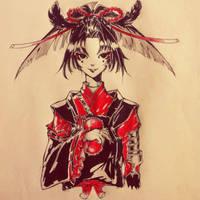 Kogarasumaru-Touken Ranbu by Soyuki511