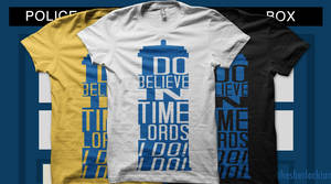 I Do Believe in Time Lords by thesherlockian
