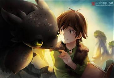 +HTTYD-Gaining Trust+ by goku-no-baka