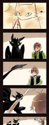 +HTTYD -Toothless Drawing+ by goku-no-baka