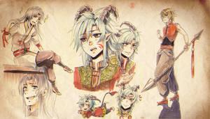 +Copic sketch compilation+ by goku-no-baka