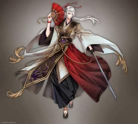 + God's sword dance + by goku-no-baka