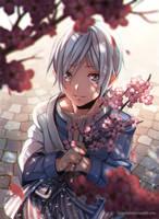 +Sakura Fall - Rei+ by goku-no-baka