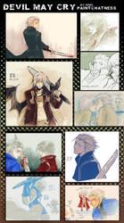 +DEVIL MAY CRY doodles log1+ by goku-no-baka