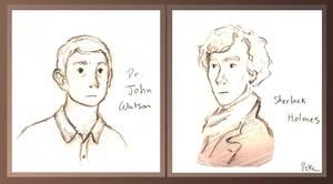 John and Sherlock by indigocean