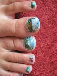spring toes 2 by indigocean