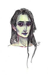 American Gods - zombie wife by indigocean