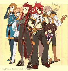 Tales of the Abyss Countdown by LadyUsada