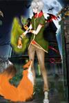 Oc Drakko Sturm/ Happy Halloween by pandanekochanx3