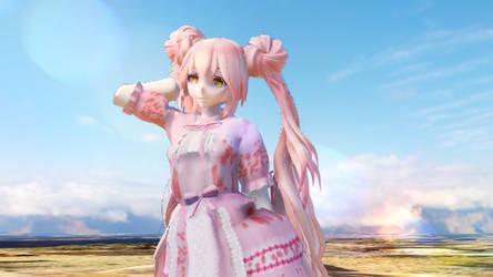 Neko Lolita Dress MMD by pandanekochanx3