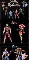 X-Men Revolution - Final Color by new-moon-night