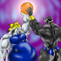 Commission:Orb of Muscle by GrineX