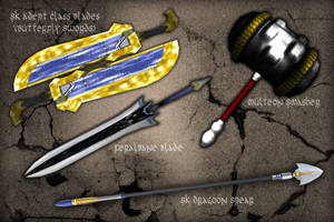 SecondLife Weapon Completion 1 by GrineX