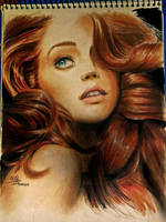 Woman portrait by SalamiCC