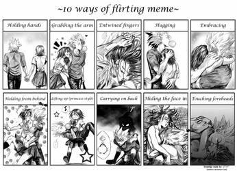10 W.o.F.M. Mamori and Hiruma by SalamiCC