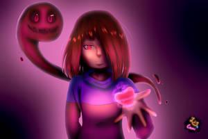 Pink Soul of Fear [With Speedpaint] by LirycaAllson