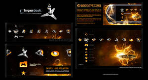 Solar Flare for PS3 and PSP by skinsfactory