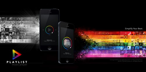 Playlist Music Player Promo by skinsfactory