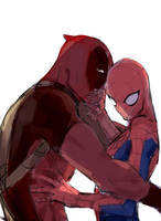 Spideypool3 by violet1025