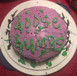 Goosebumps 2017 cake by 34wacky