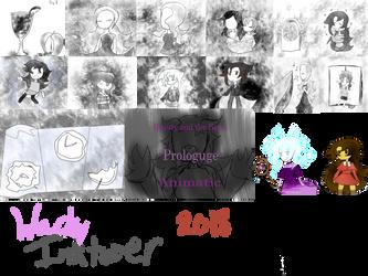 Inktober 2018 by 34wacky