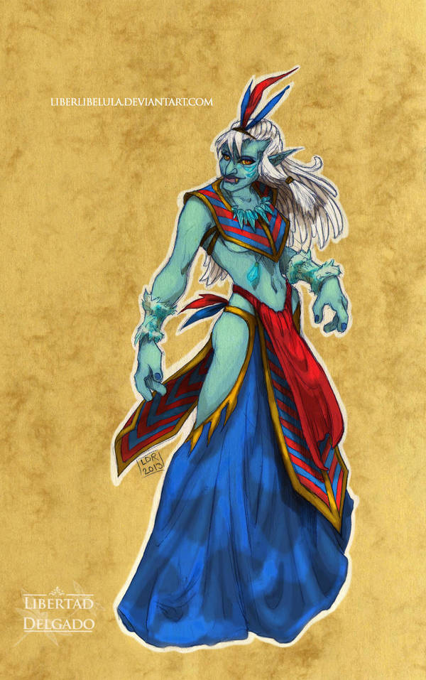 Disney meets Warcraft - Kida by LiberLibelula